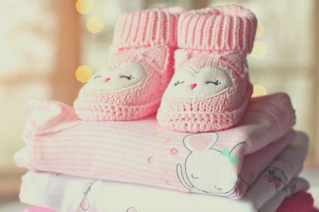 pink shoes and clothes for baby girl