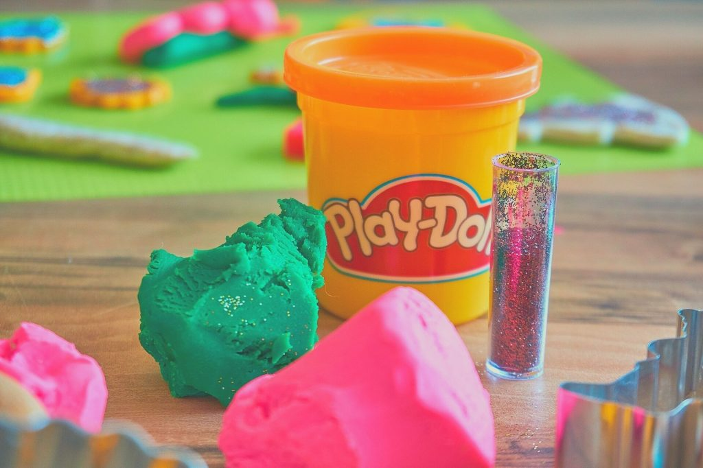 playdough creative set