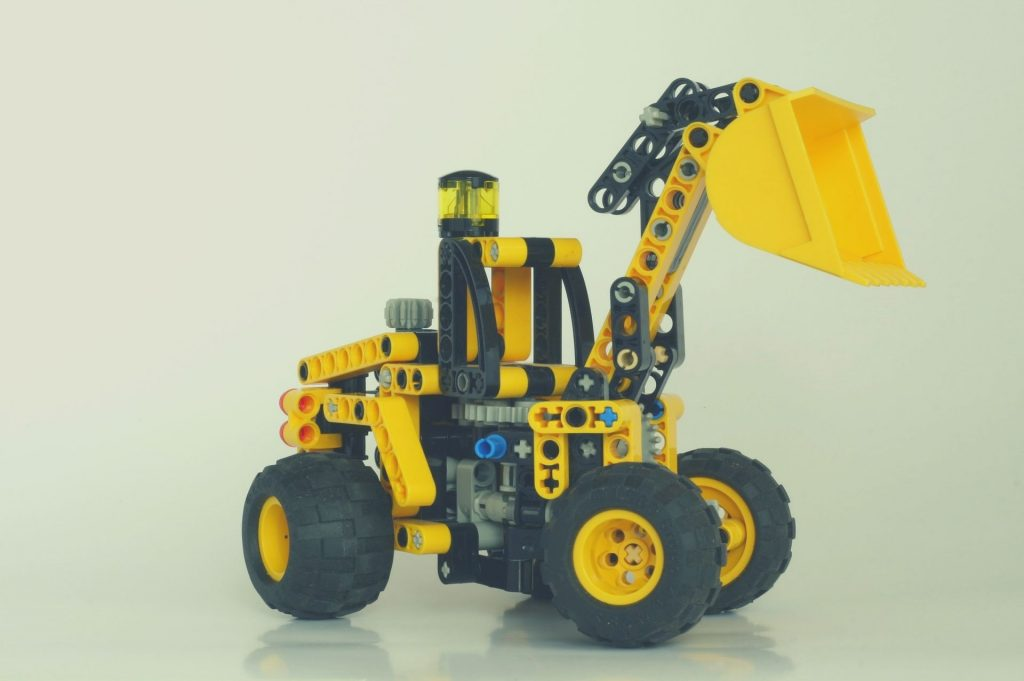 lego technic shovel set